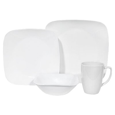 Square 16 Piece Dinnerware Set by Corelle