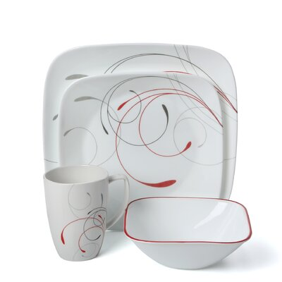 Splendor 16 Piece Dinnerware Set by Corelle