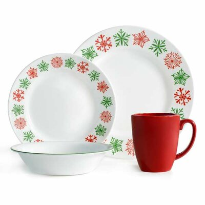 Impressions 16 Piece Dinnerware Set by Corelle