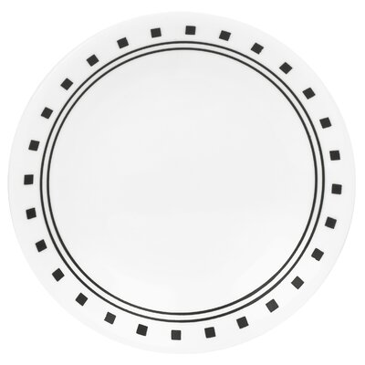 "Corelle Livingware 6.75"" City Block Bread and Butter Plate"