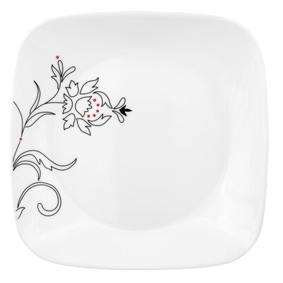 "Corelle Royal Lines 9"" Square Luncheon Plate"