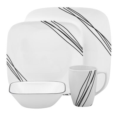 Simple Sketch Dinnerware Collection by Corelle