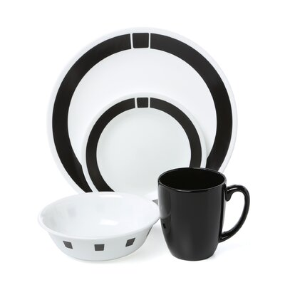 Livingware Urban 16 Piece Dinnerware Set by Corelle