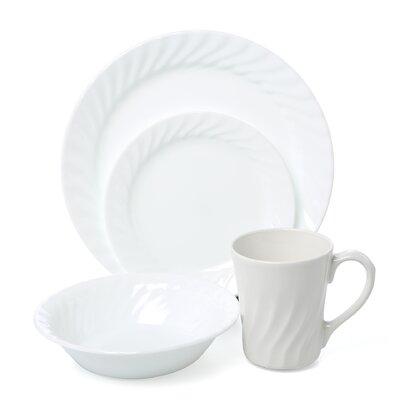 Corelle Impressions Sculptured 16 Piece Dinnerware Set