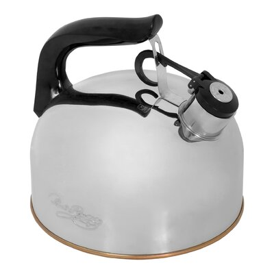 2.33 Qt. Whistling Tea Kettle by Revere Cookware