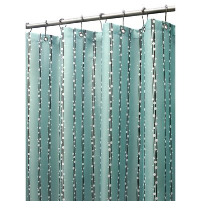 Prints Bubbles on A String Shower Curtain by Watershed