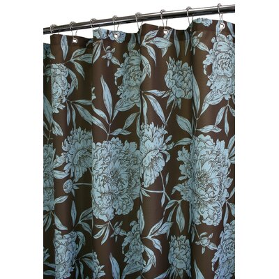 Prints Peony Shower Curtain by Watershed