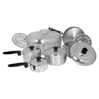 Classic Cast Aluminum 13 Piece Classic Cookware Set by Magnalite Cookware