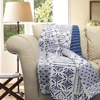Monique Cotton Throw Blanket by Lush Decor