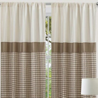 Special Edition by Lush Decor Waldorf Rod Pocket Curtain Single Panel