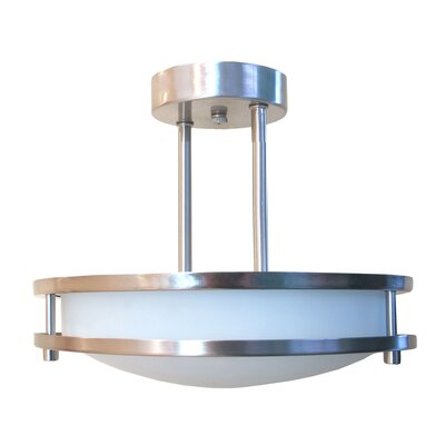 Saturn 2 Light Semi-Flush Mount Product Photo
