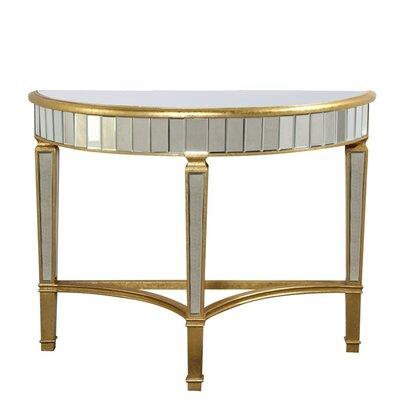 Florentine Half Moon Console Table by Elegant Lighting