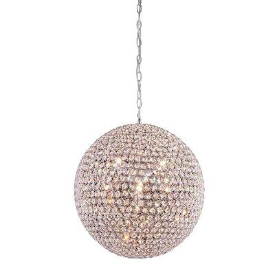 Cabaret 9 Light Globe Pendant by Elegant Lighting