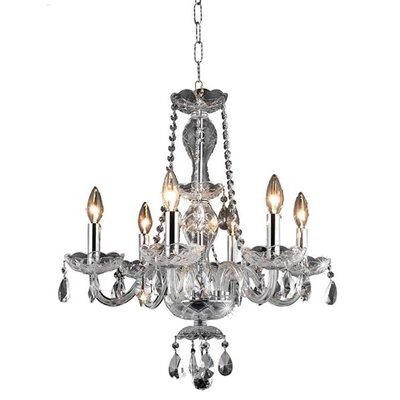 Francesca Crystal Chandelier by Elegant Lighting