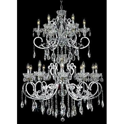 Elegant Lighting Aria 16 Light  Chandelier