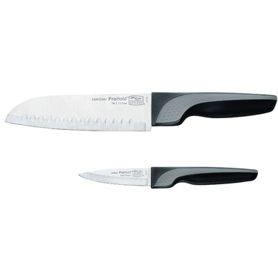 Chicago Cutlery ProHold™ 2 Piece Santoku and Parer Knife Set
