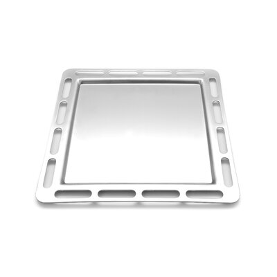"""EcoQue 12"""" Stainless Steel Griddle"""
