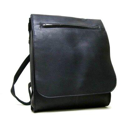 Organizer Shoulder Backpack by Le Donne Leather