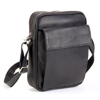 iPad/E-Reader Carry All Shoulder Bag by Le Donne Leather