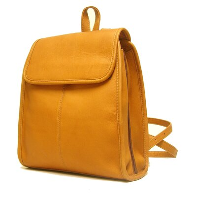 Women's 3 Compartment Backpack by Le Donne Leather