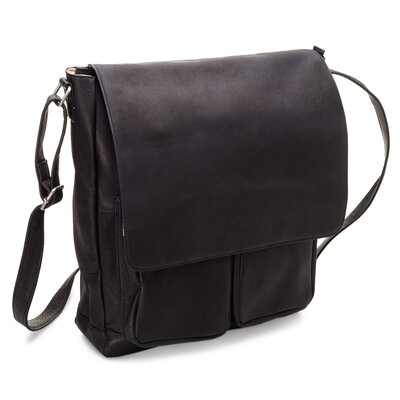 Cargo Laptop Messenger Bag by Le Donne Leather