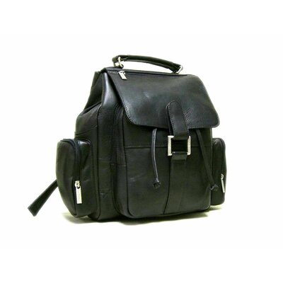 Multi Pocket Backpack by Le Donne Leather