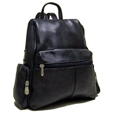 Zip Around Backpack by Le Donne Leather