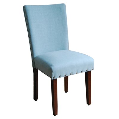 Blue Parsons Chair by Kinfine