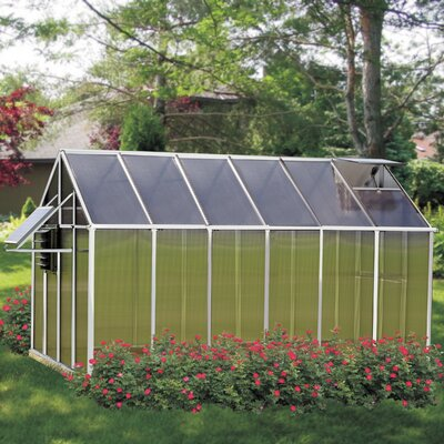 Monticello 8 Ft. x 12 Ft. Mojave Greenhouse by Riverstone Industries Corporation
