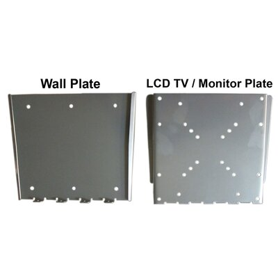"Arrowmounts Fixed Wall Mount for 10"" - 36"" Screens"