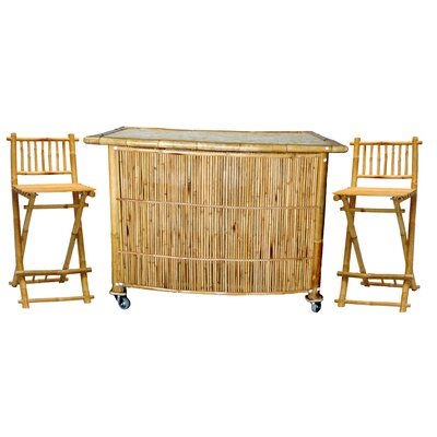 Bamboo54 3 Piece Bar Set