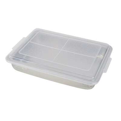 Non-Stick AirBake Natural Cake Pan with Cover by Bialetti