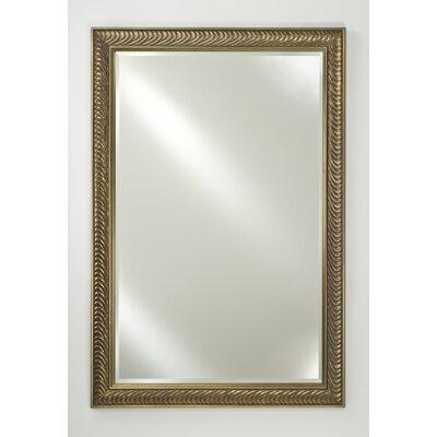Signature Frameless Plain Wall Mirror by Afina