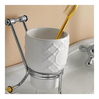 Toscanaluce by Nameeks Free Standing Glass Toothbrush Holder