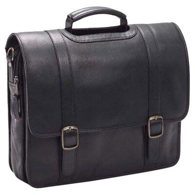 Clava Leather Vachetta Executive Leather Laptop Briefcase