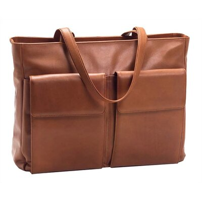 Laptop Tote Bag by Clava Leather