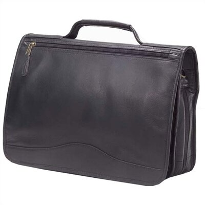 Vachetta Leather Laptop Briefcase by Clava Leather