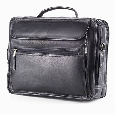 Vachetta Extra Large Leather Laptop Briefcase by Clava Leather