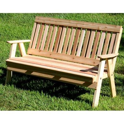 Creekvine Designs Cedar Benches Garden Bench