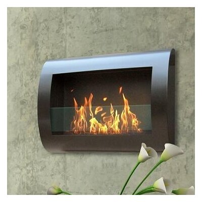 Chelsea Wall Mount Bio Ethanol Fireplace by Anywhere Fireplaces