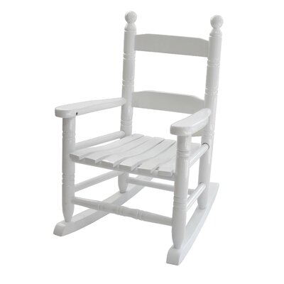 Knollwood Children's Rocking Chair in White by Jack-Post