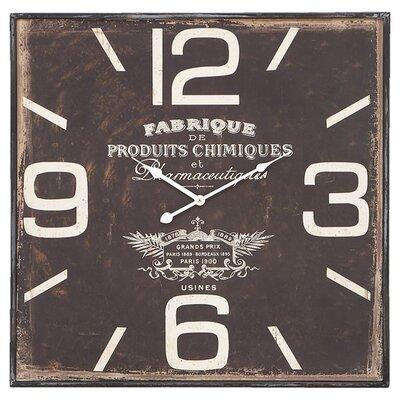 Ondine Wall Clock by UMA Enterprises
