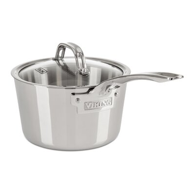 Contemporary Sauce Pan with Lid by Viking