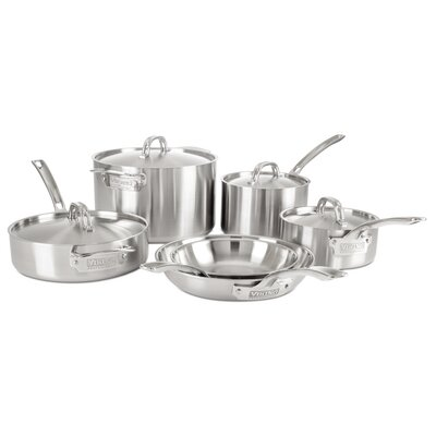 Professional 5 Ply 10 Piece Cookware Set by Viking