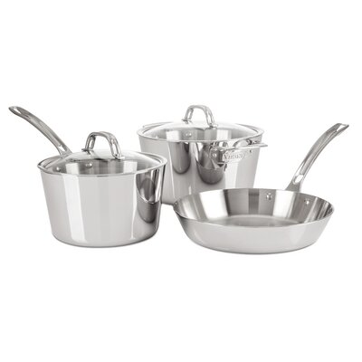 Contemporary 5-Piece Starter Cookware Set by Viking