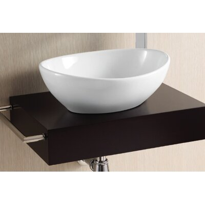 Ceramica II Vessel Bathroom Sink Product Photo