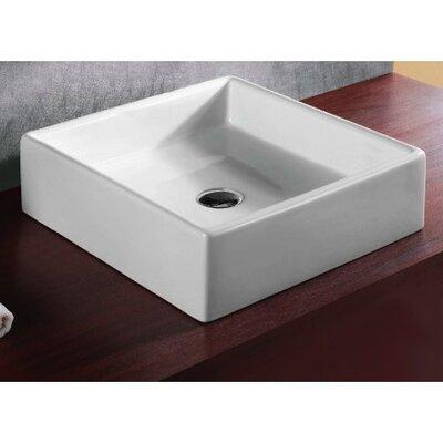 Caracalla Ceramica Vessel Bathroom Sink