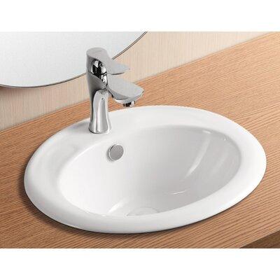 Ceramica II Bathroom Sink by Caracalla