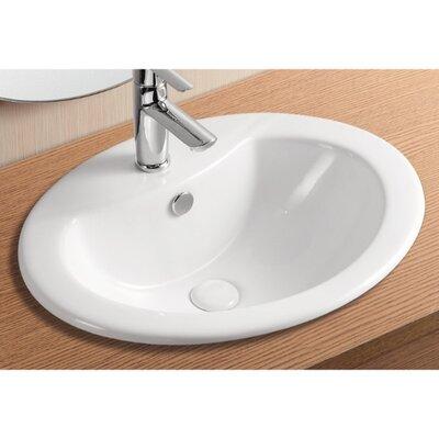 Caracalla Ceramica II Bathroom Sink