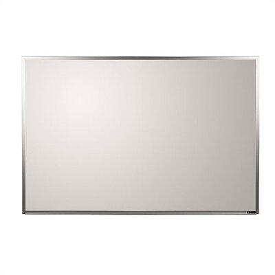 Claridge Products TrimLine Series Wall Mounted Magnetic Whiteboard, 4' x 8'